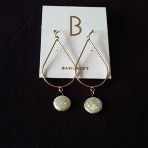 Bancroft Mother of Pearl Dangling Earrings